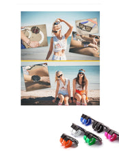 Load image into Gallery viewer, Cool Mini Folding Polarized Slap Sunglasses UV400 - Beeredee [variant_title]
