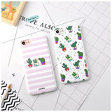 Cute cactus Iphone silicone case - Beeredee [variant_title]
