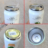 Cute Plant Thermos Mug - Stainless Steel Vacuum Flasks 300ml - Beeredee [variant_title]