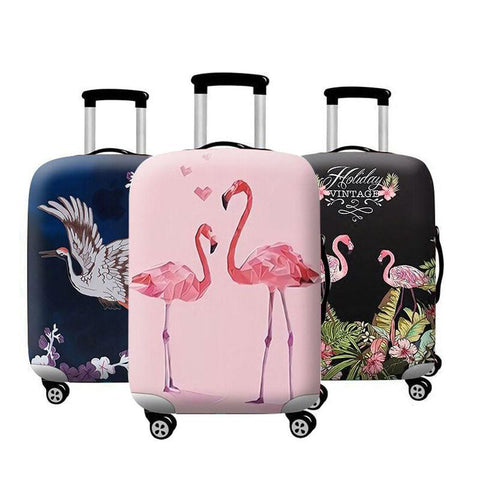 Elastic luggage protective cover - tropical theme - Beeredee [variant_title]