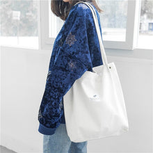 Load image into Gallery viewer, Simple - High quality  Minimalist Tote/Shoulder Bag in Corduroy - Beeredee White