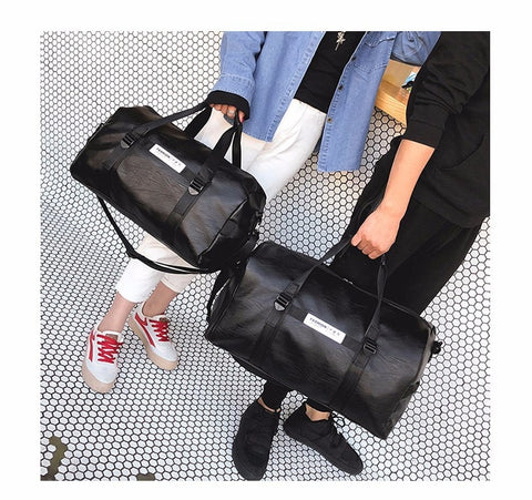 Duffel bag with shoes compartment - Beeredee [variant_title]