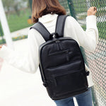 UNIQUE -  large capacity backpack in vegan leather - Beeredee [variant_title]