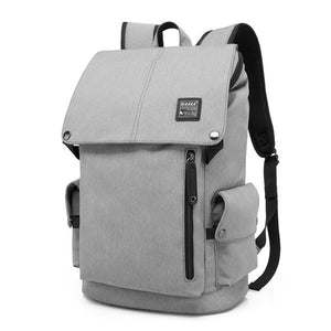 Beijing Travel Backpack - Waterproof - Beeredee Gray