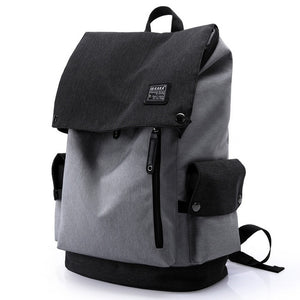 Beijing Travel Backpack - Waterproof - Beeredee black and grey
