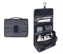 Load image into Gallery viewer, Travel Cosmetics Storage Bag  Waterproof - Beeredee blue pattern