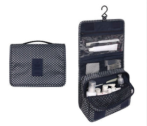 Travel Cosmetics Storage Bag  Waterproof - Beeredee blue pattern