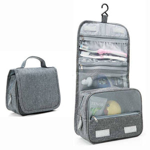 Travel Cosmetics Storage Bag  Waterproof - Beeredee luxury grey