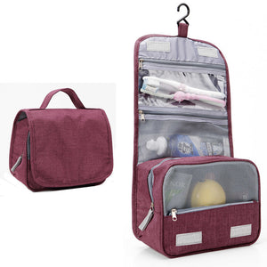 Travel Cosmetics Storage Bag  Waterproof - Beeredee luxury burgundy