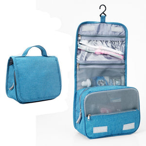 Travel Cosmetics Storage Bag  Waterproof - Beeredee luxury light blue