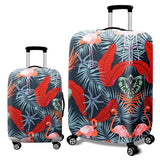 Fashion Elastic Suitcase Protective Cover - Beeredee Flamingo / S