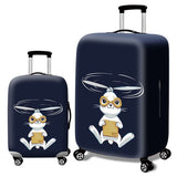 Fashion Elastic Suitcase Protective Cover - Beeredee Rabbit / S