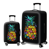 Fashion Elastic Suitcase Protective Cover - Beeredee Pineapple / S