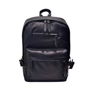 UNIQUE -  large capacity backpack in vegan leather - Beeredee Black / delivered from China