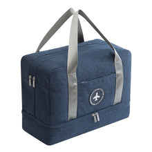 Load image into Gallery viewer, Waterproof Storage Bag with Shoes compartment - Beeredee Deep Blue