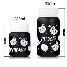 Load image into Gallery viewer, Stainless Steel Vacuum Flask cats - Beeredee [variant_title]