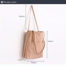 Load image into Gallery viewer, High quality cotton canvas Tote Bag - Beeredee [variant_title]