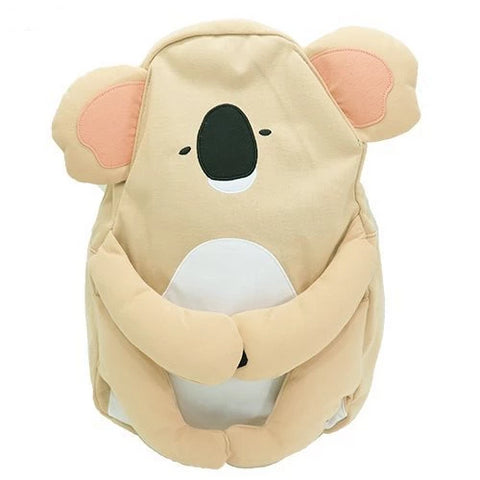 Japanese Backpack - koala design - Beeredee light brown