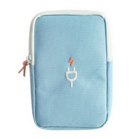 Earphone/Cable USB  Case - Beeredee Blue