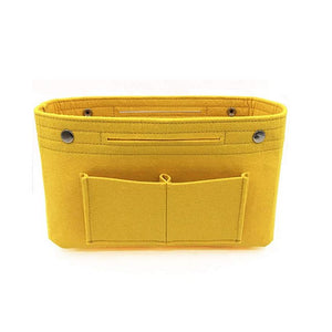 Multi-pockets storage organizer for handbag - Beeredee Yellow