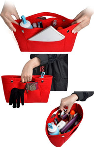 Multi-pockets storage organizer for handbag - Beeredee [variant_title]