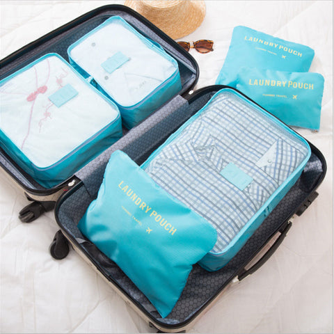 6 Pcs/Set Portable Storage Bag - Beeredee [variant_title]