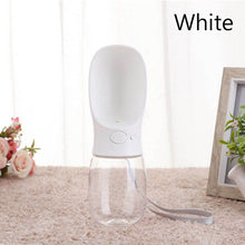 Load image into Gallery viewer, Portable Pet Water Bottle - Beeredee White / 350ml