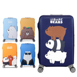Bear Themed Elastic Luggage Protective Cover - Beeredee [variant_title]