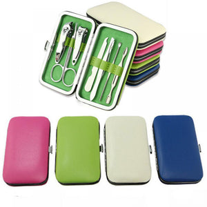 Manicure Pedicure Set Kit Nail Care Clipper Tool - Beeredee [variant_title]