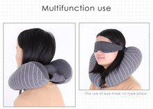 Load image into Gallery viewer, Travel Set - (neck pillow + blinder) - Beeredee [variant_title]