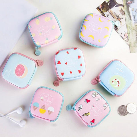 Cute Kawaii Headset/ Charging Cable Storage Bag - Beeredee [variant_title]