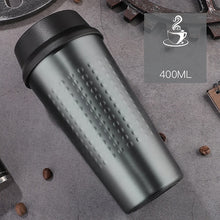 Load image into Gallery viewer, KLIK - Double Wall Stainless Steel Vacuum Flasks 400 ml - Beeredee 400ML / Grey