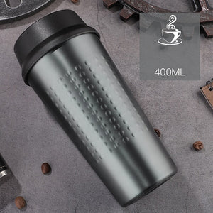 KLIK - Double Wall Stainless Steel Vacuum Flasks 400 ml - Beeredee 400ML / Grey