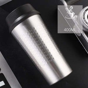 KLIK - Double Wall Stainless Steel Vacuum Flasks 400 ml - Beeredee 400ML / Silver