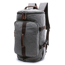 Load image into Gallery viewer, Dakar - Canvas Large Capacity Backpack - Beeredee GREY-SMALL