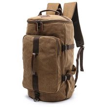 Load image into Gallery viewer, Dakar - Canvas Large Capacity Backpack - Beeredee COFFEE-SMALL