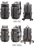 Dakar - Canvas Large Capacity Backpack - Beeredee [variant_title]