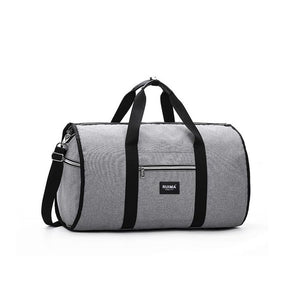 Milano - Foldable Waterproof duffle bag for business travel - Beeredee Gray