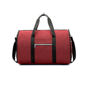 Milano - Foldable Waterproof duffle bag for business travel - Beeredee Red