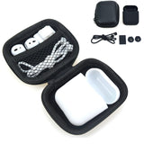 Earphone Bag 5 in 1 Storage Box For AirPods - Beeredee white