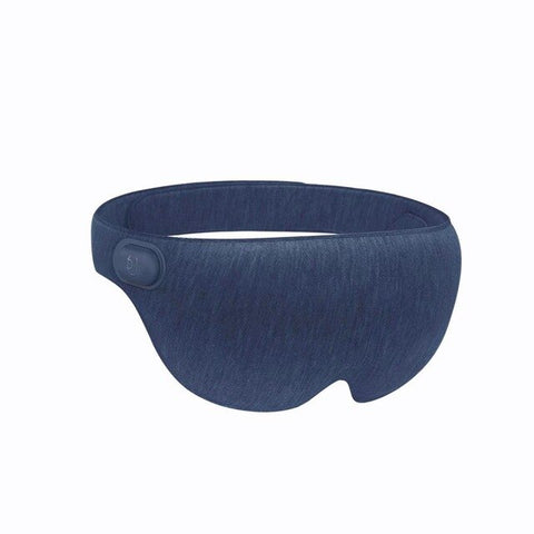 Hot Steam Rest Eye Mask - travel airline, usb charger - Beeredee Blue