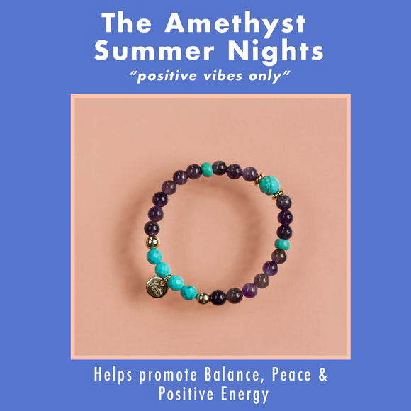 Amethyst Summer Nights Bracelet