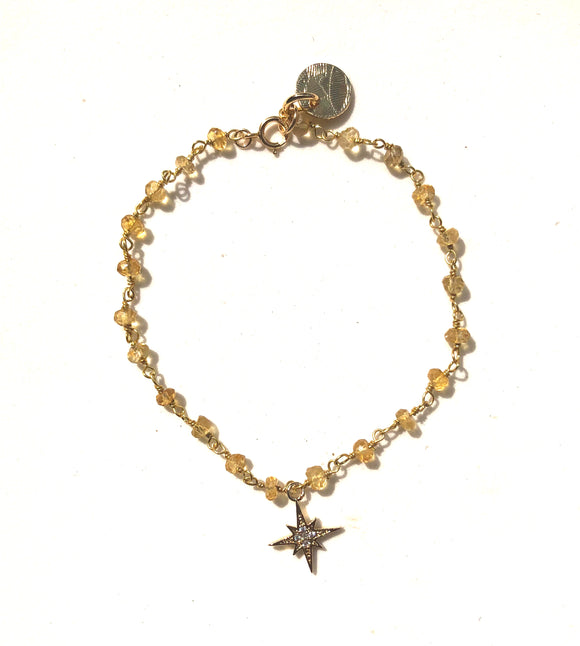 The Dainty 'Northern Star' Bracelet