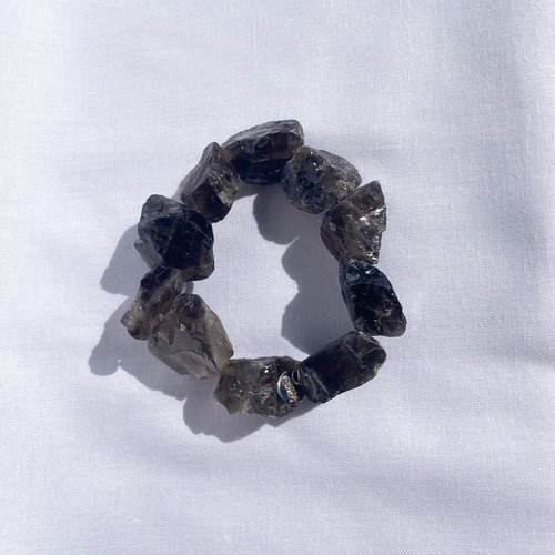 RAW The Smokey Quartz Bracelet