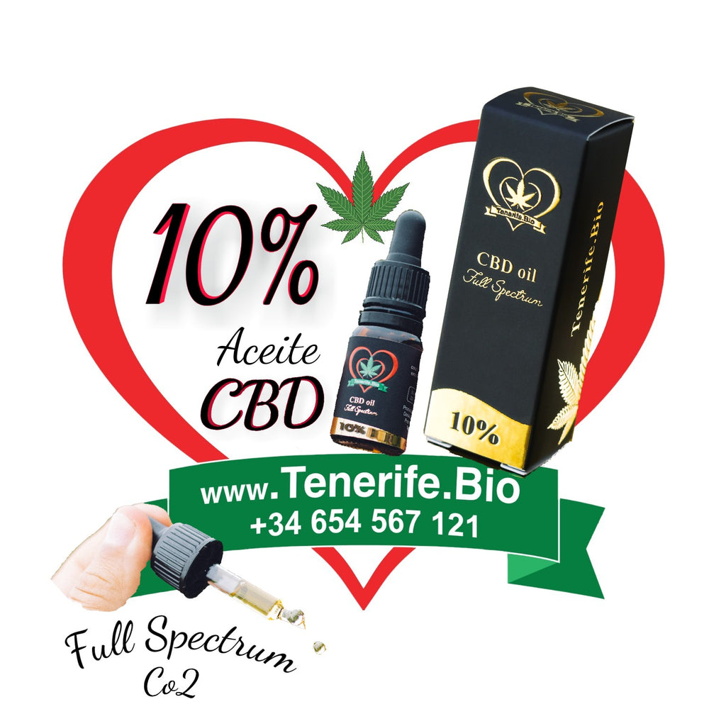 Aceite CBD 10% full spectrum (extracción Co2 MTC)