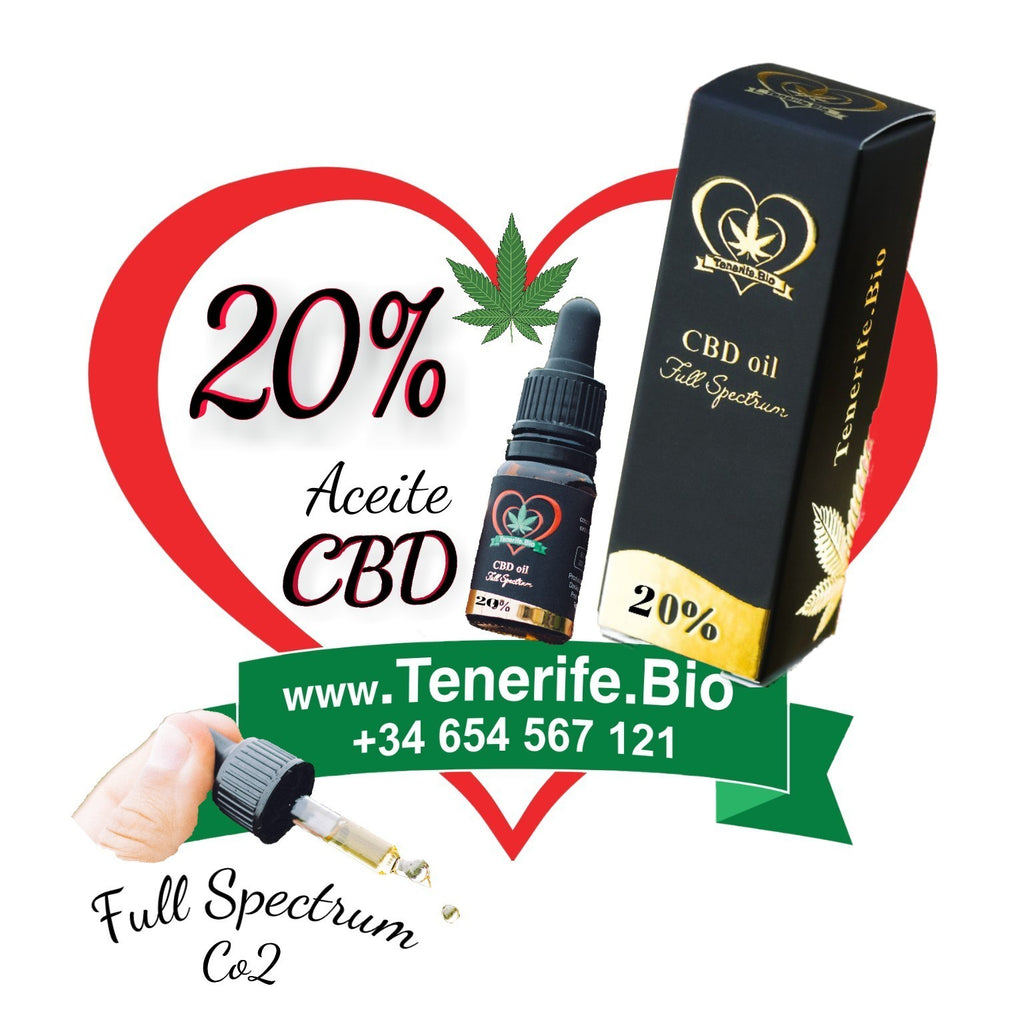 Aceite CBD 20% full spectrum (extracción Co2 MTC)