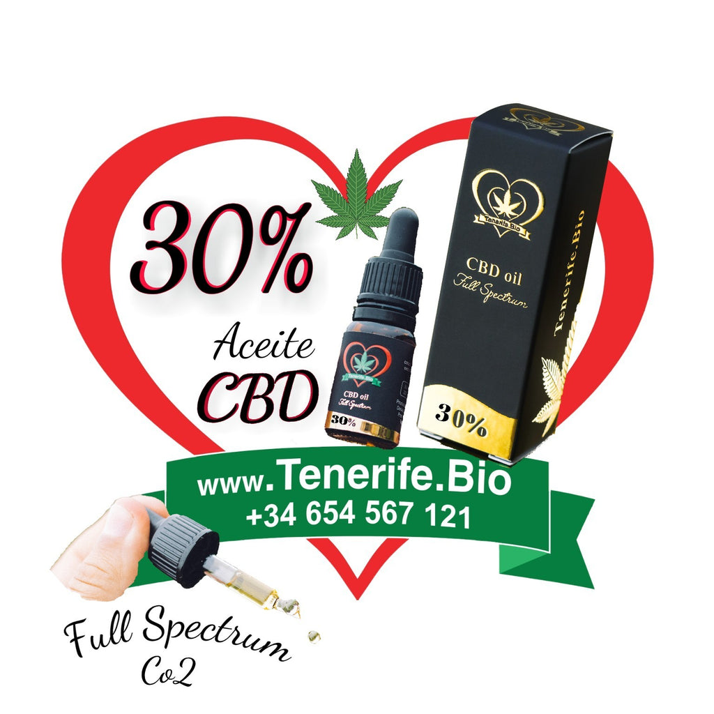 Aceite CBD 30% full spectrum (extracción Co2 MTC)