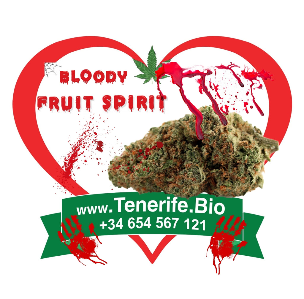 Bloody Fruit Spirit CBD 8-12% ♥️