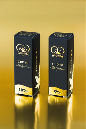 Aceite CBD Tenerife.Bio 5% full spectrum (extracción Co2 MTC)