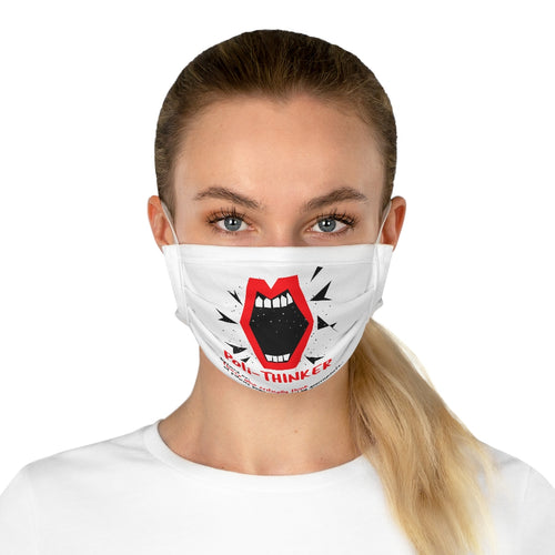 BIG MOUTH Cotton Face Mask